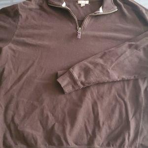 George Zip Collar Sweatshirt